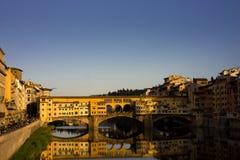 Pontevecchio Florence Royaltyfri Foto