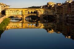 Pontevecchio Florence Arkivbild
