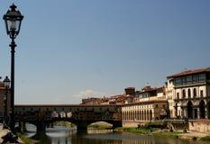Pontevecchio in Florenz Stockfoto