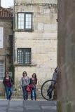 Pontevedra city (Spain) Royalty Free Stock Images