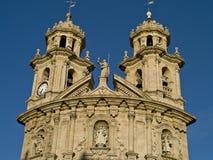 Pontevedra, Galicië, Spanje Stock Foto's