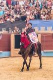 Pontevedra, Spain - September 3, 2016: Festival of medieval knights tournament. Image of Festival of medieval knights tournament, Pontevedra, Spain - September 3 Royalty Free Stock Images