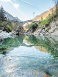 Ponti dei salti in Switzerland Royalty Free Stock Photography