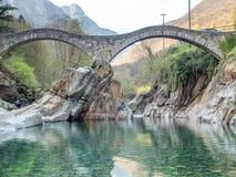 Ponti dei salti in Switzerland Royalty Free Stock Image