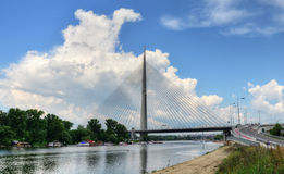 Ponti 24 di Belgrado Fotografia Stock