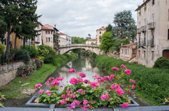 Ponti di Vicenza Fotografia Stock Libera da Diritti