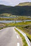 Ponti a Fredvang in Lofoten Norvegia Fotografia Stock Libera da Diritti