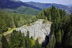 Ponti meravigliosi stupefacenti e vista panoramica alla montagna di Rhodopes, Bulgaria Immagini Stock Libere da Diritti