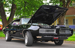 Pontiac 1968 GTO immagini stock