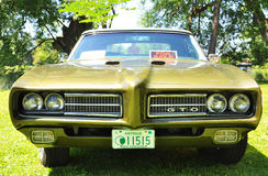 Pontiac 1969 GTO Photo stock
