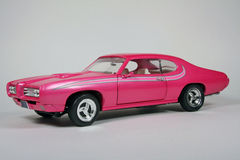 Pontiac 1969 GTO Hot Pink Goat Stock Images