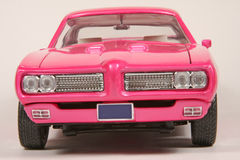 Pontiac 1969 GTO Hot Pink Goat Stock Photos