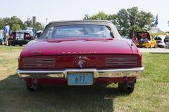 1968 Pontiac 400 Achtermening Royalty-vrije Stock Afbeelding