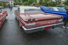 Pontiac bonneville μετατρέψιμο το 1960 Στοκ εικόνα με δικαίωμα ελεύθερης χρήσης