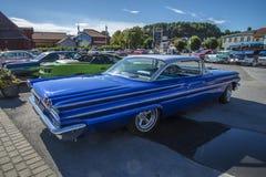 1960 Pontiac Bonneville 2 πόρτα Hardtop Στοκ Φωτογραφία