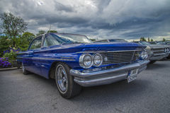 1960 pontiac bonneville coupe Royalty Free Stock Image