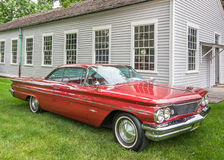 1960 Pontiac Bonneville. DEARBORN, MI/USA - JUNE 20, 2015: A 1960 Pontiac Bonneville car at The Henry Ford (THF) Motor Muster, held at Greenfield Village Stock Photos