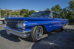1960 Pontiac Bonneville 2 Door Hardtop Royalty Free Stock Photography