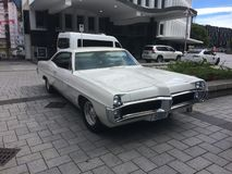 Pontiac Bonneville 3rd generation, 1965 stock photography
