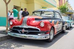 Pontiac 1952 en los estudios universales la Florida Imagen de archivo libre de regalías