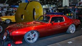 1973 Pontiac Firebird bij SEMA Stock Afbeelding