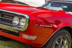 1968 Pontiac Firebird. At a classic car show Stock Images