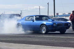 Pontiac firebird drag car Royalty Free Stock Photography