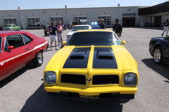 Pontiac Firebird Formula cope Stock Image