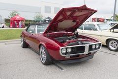 Pontiac Firebird 1967 op vertoning Royalty-vrije Stock Afbeelding