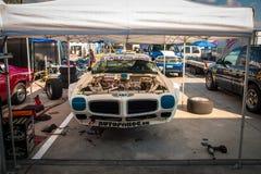 Pontiac Firebird racerbil Royaltyfri Bild