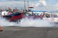 Pontiac firebird smoke show Stock Photos