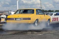 Pontiac firebird smoke show Stock Photo