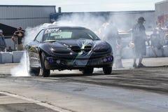 Pontiac firebird smoke show Royalty Free Stock Image