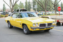 Pontiac Firebird Sprint classic car on display Stock Photography