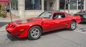 Pontiac Firebird Trans Am TA 66 Stock Photo