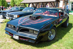Pontiac Firebird trans Am ( 1977) Royalty-vrije Stock Foto's