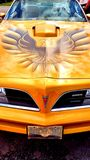 Pontiac firebird Royalty Free Stock Images