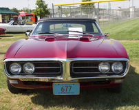 1968 Pontiac 400 Front View Royalty-vrije Stock Foto's