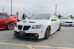 Pontiac G8 on display Stock Photos