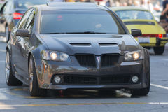 Pontiac G8 GT car on display Royalty Free Stock Images