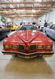 Pontiac Grand Prix displayed at  MOTO SHOW in Cracow Poland. Exhibitors present  most interesting aspects of the automotive industry Stock Images