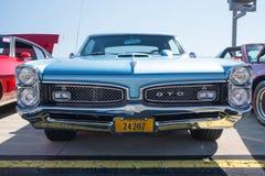 Pontiac 1967 GTO immagine stock libera da diritti