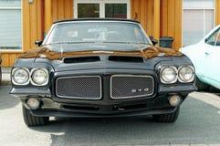 Pontiac GTO in black Royalty Free Stock Photos