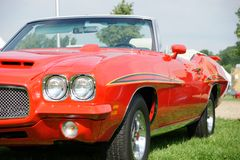 Pontiac GTO Convertible. Picture of the 1969 Pontiac GTO Convertible royalty free stock photo