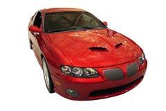 Pontiac GTO dat over Wit wordt geïsoleerde Stock Afbeelding