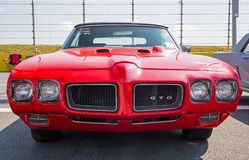 Pontiac GTO domare 1970 Royaltyfria Bilder