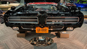Pontiac GTO domare 1969 Restoration Arkivbilder