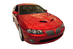 Pontiac GTO isolata sopra bianco Immagine Stock
