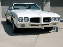 Pontiac GTO showbil 1970 Arkivbild