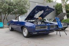 Pontiac GTO su esposizione fotografia stock libera da diritti